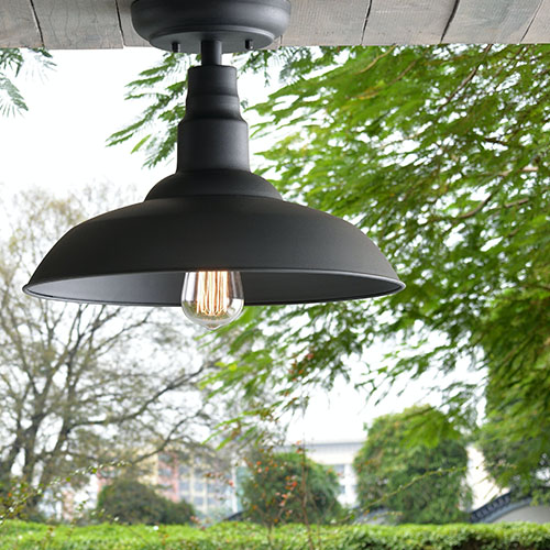 Outdoor Semi-Flush Ceiling Lights