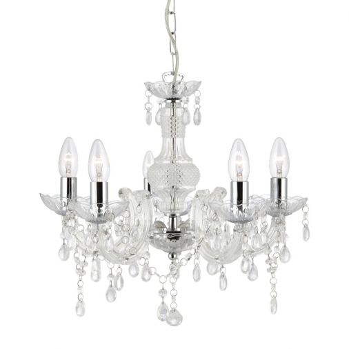 Glass Indoor Chandeliers