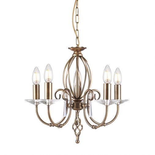 Brass Indoor Chandeliers